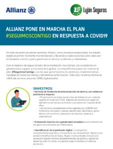 Promoción Salud Allianz, Lujan Seguros